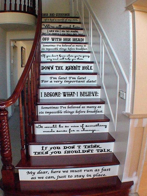 scările din lemn