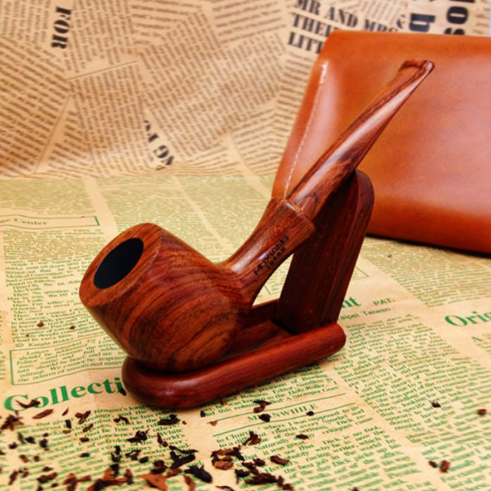 Entry-level Tobacco Pipe Solid Wood Smoking Pipe Rosewood Weed Pipe for smoking Weed With