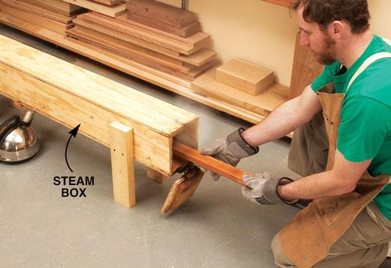 lemn aburit