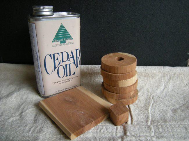 uleiul de cedru