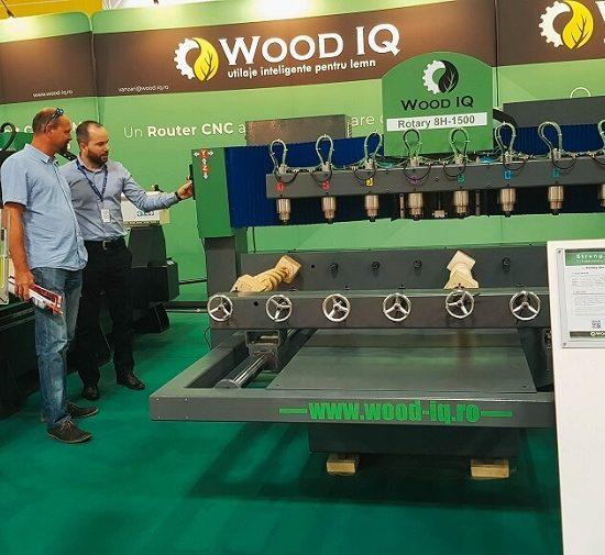 CNC-uri Wood IQ