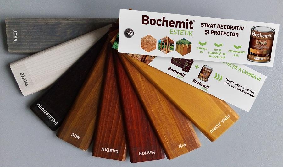 uleiuri colorate pentru protectia lemnului bochemit